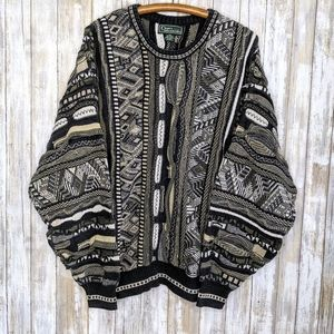 Vintage Sweater Cosby Coogi Style Croft Barrow